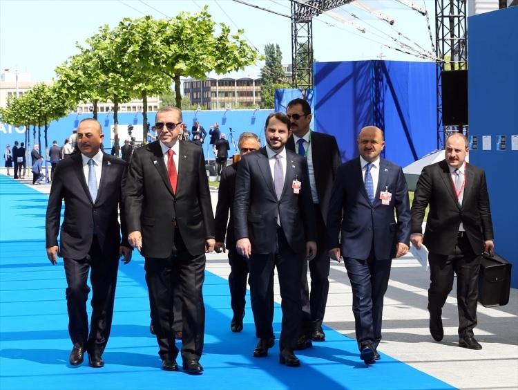 NATO karargahının açılışından çok özel kareler 1