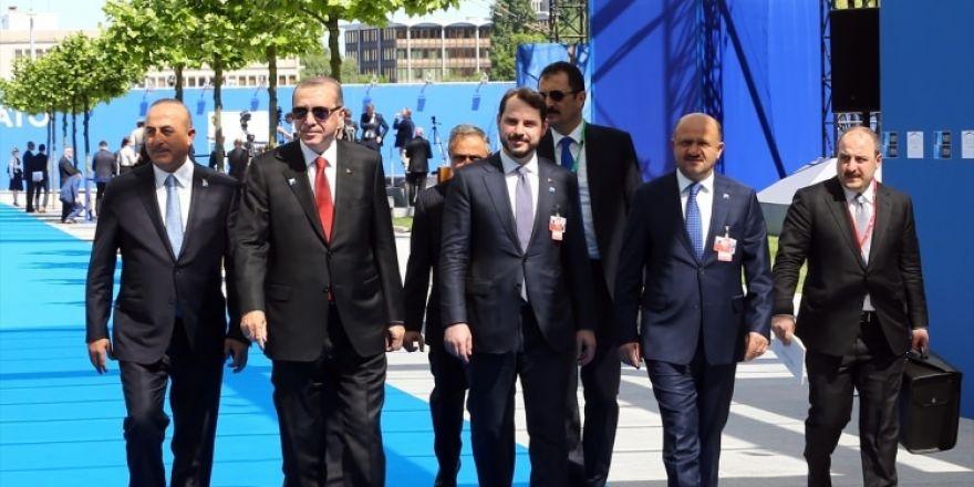NATO karargahının açılışından çok özel kareler