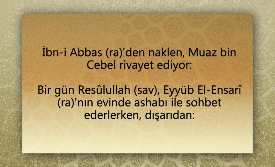 Peygamber Efendimiz (SAV)'in  Şeytan ile konuşması 1