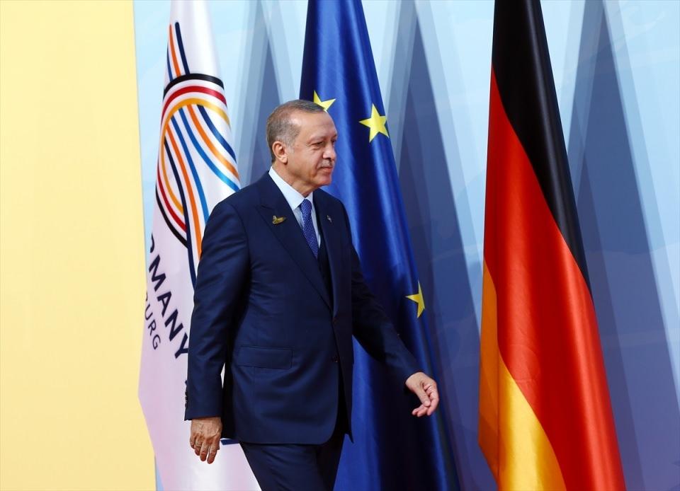 Dünya liderleri G20'de bir araya geldi 1