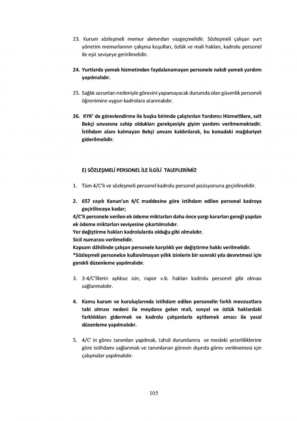 Kamu sözleşmesi - hapis ve ceza şartları