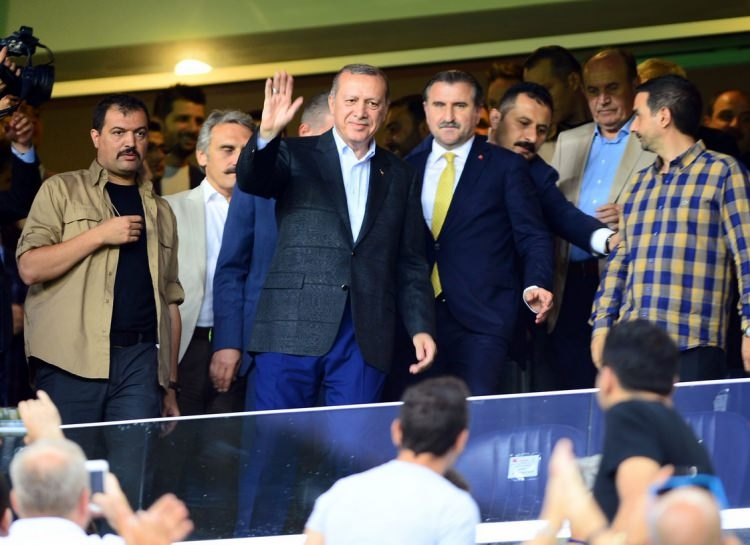Cumhurbaşkanı Erdoğan Kadıköy'de! 1