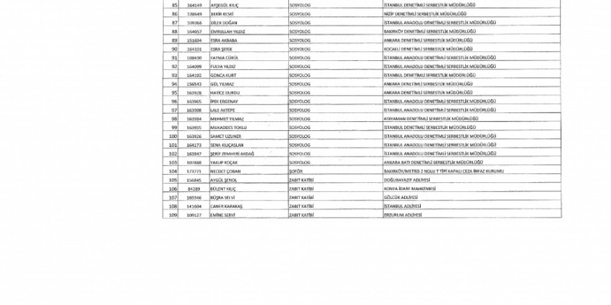 İşte yeni KHK ile ihraç edilenlerin tam listesi