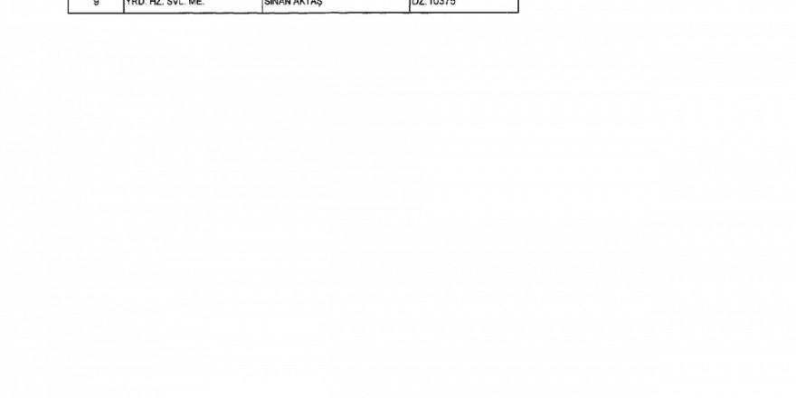 İşte yeni KHK ile göreve iade edilenlerin tam listesi