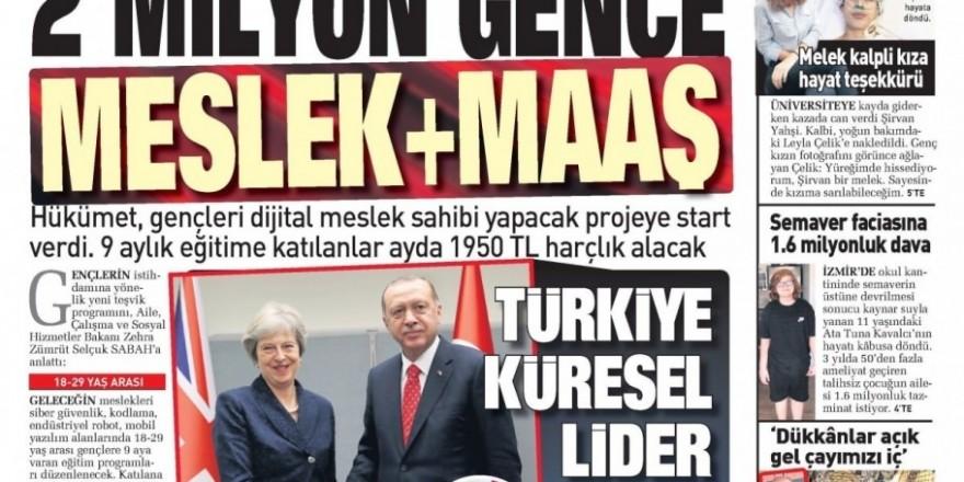 27 Eylül 2018 gazete manşetleri