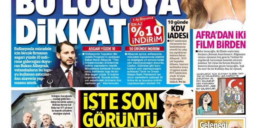 10 Ekim gazete manşetleri