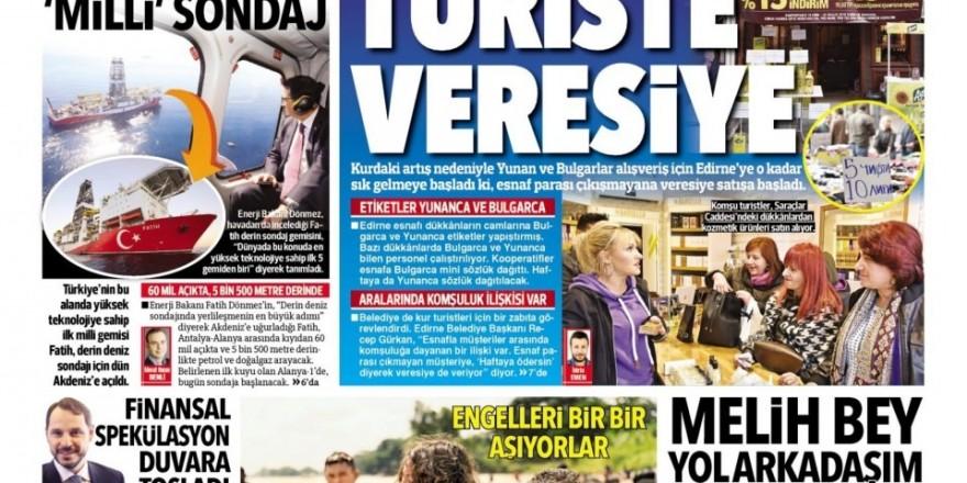 31 Ekim Gazete Manşetleri
