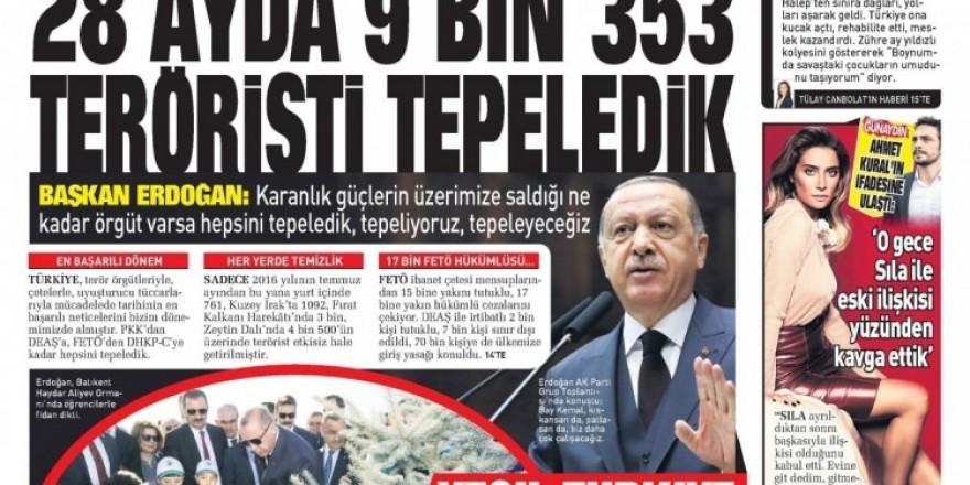 7 Kasım 2018 Gazete Manşetleri