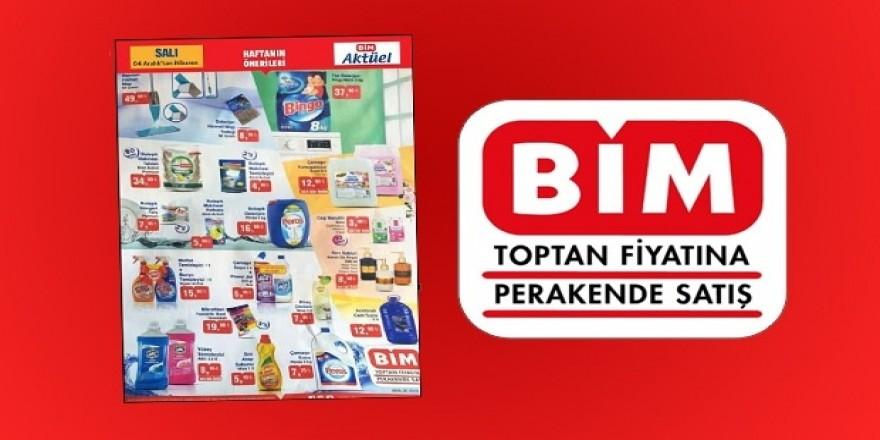 BİM temizlik ürünlerde büyük kampanya! 04 Aralık indirim kataloğu