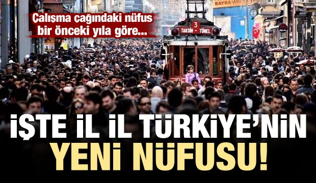 Türkiye'nin nüfusu açıklandı! 1