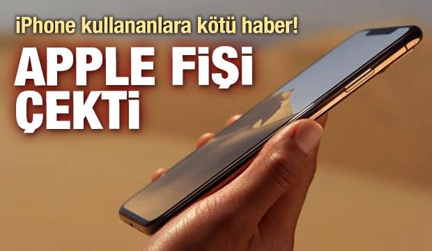 iPhone sahiplerine kötü haber: Apple bu modellerin fişini çekiyor 1