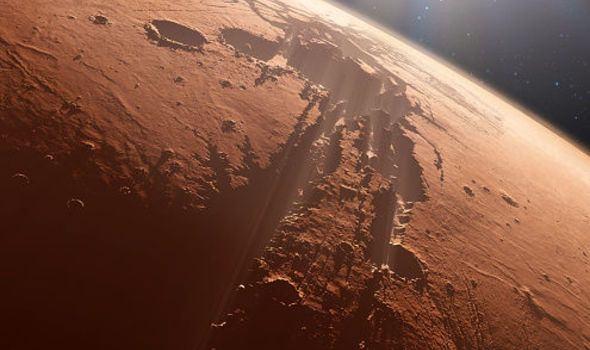 Mars'tan gelen görüntüler şaşkına çevirdi 1