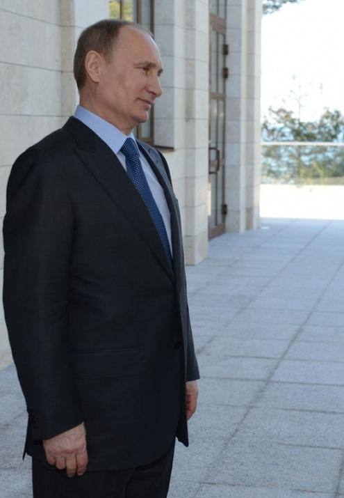 Erdoğan ile Putin bir araya geldi 1