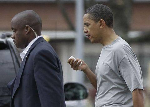 Obama'nın dudağı patladı! 4