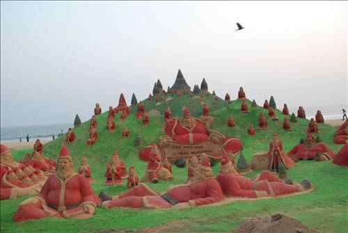 Kumdan heykeller 9