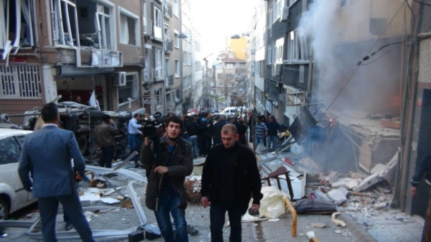 Taksim'deki patlama sonrası ilk görüntüler 1