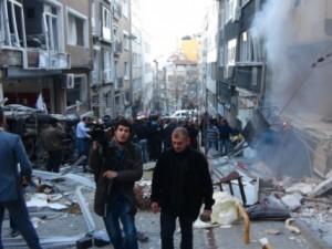 Taksim'deki patlama sonrası ilk görüntüler