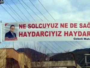 En ilginç 30 Mart seçim afişleri