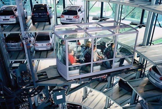 Volkswagen'in otomobil kuleleri 1
