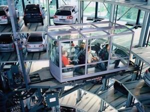 Volkswagen'in otomobil kuleleri