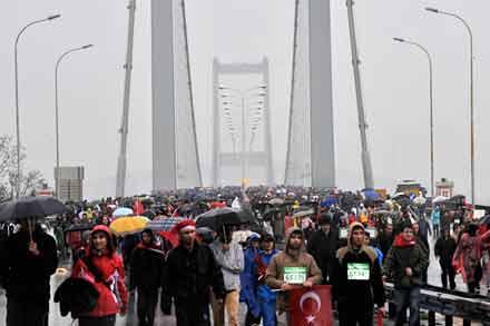 Avrasya Maratonu'na büyük ilgi 1