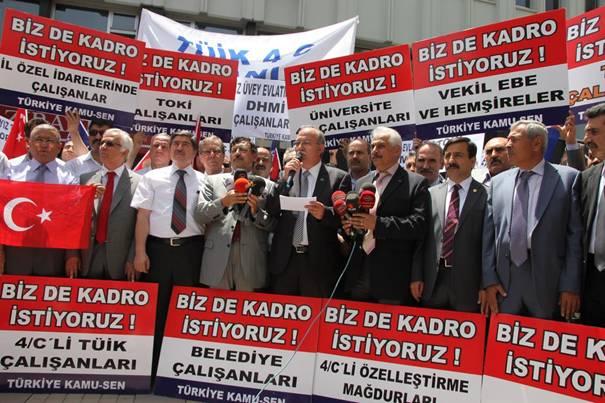 Türkiye Kamu-Sen mağdur sözleşmelilerin sesi oldu 1