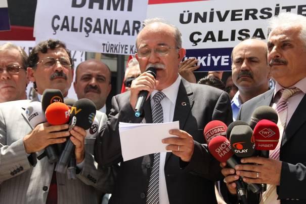 Türkiye Kamu-Sen mağdur sözleşmelilerin sesi oldu 2