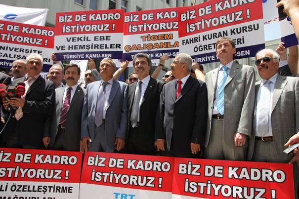 Türkiye Kamu-Sen mağdur sözleşmelilerin sesi oldu 3
