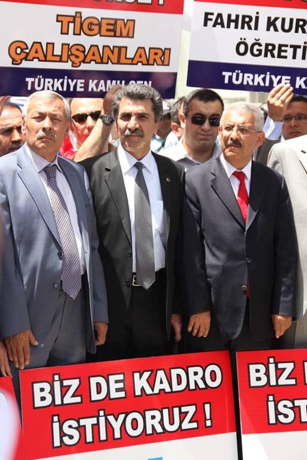 Türkiye Kamu-Sen mağdur sözleşmelilerin sesi oldu 5