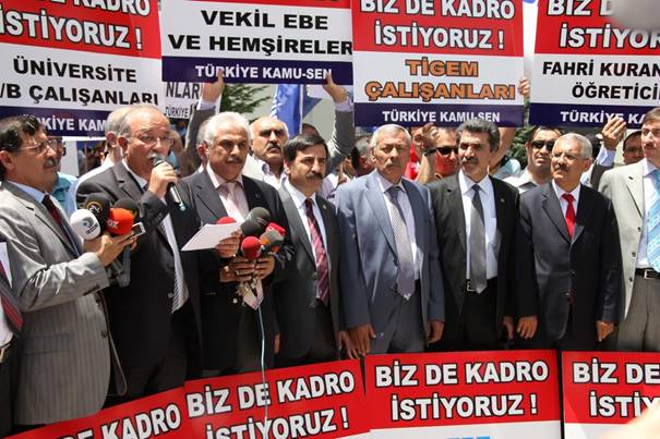 Türkiye Kamu-Sen mağdur sözleşmelilerin sesi oldu 6