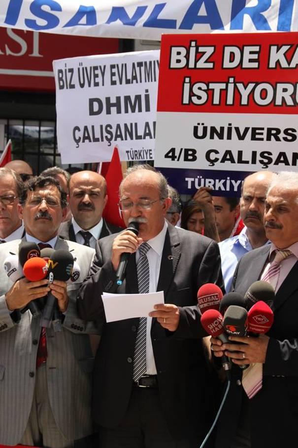 Türkiye Kamu-Sen mağdur sözleşmelilerin sesi oldu 7