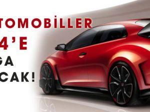 Bu otomobiller 2014'e damga vuracak!