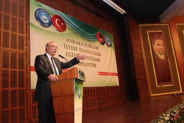 Türk Eğitim-Sen Ankara Şubeleri Kızılcahamam'da 3
