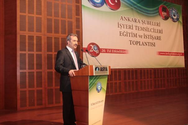 Türk Eğitim-Sen Ankara Şubeleri Kızılcahamam'da 5