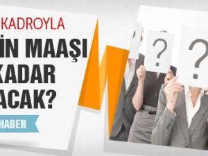 Torba Yasa'yla kimlerin maaşı ne kadar artacak?