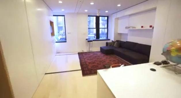 38 m2'ye 5 oda 1 salon sığdırdılar 1