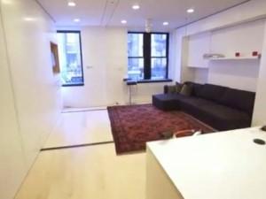 38 m2'ye 5 oda 1 salon sığdırdılar
