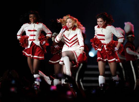 Madonna İstanbul'u salladı 1