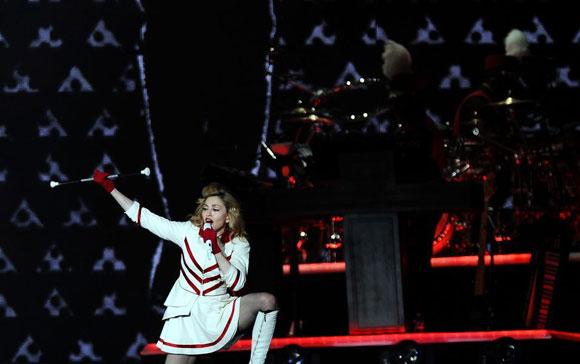 Madonna İstanbul'u salladı 10