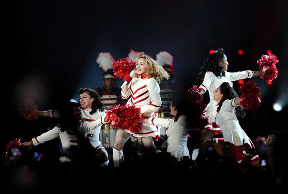 Madonna İstanbul'u salladı 3