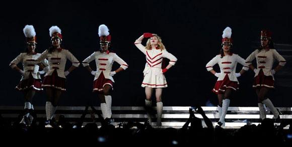 Madonna İstanbul'u salladı 4