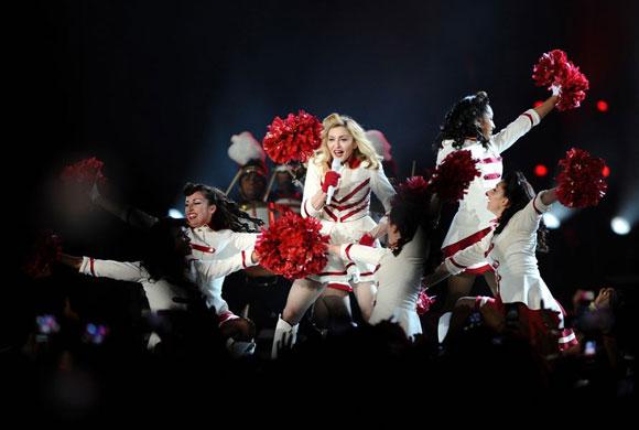 Madonna İstanbul'u salladı 5