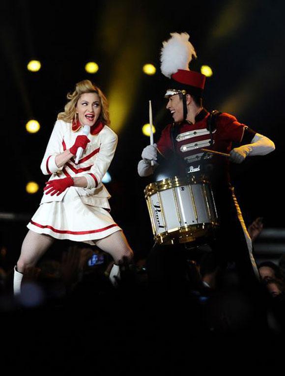 Madonna İstanbul'u salladı 6