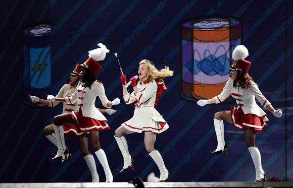 Madonna İstanbul'u salladı 7