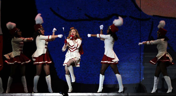 Madonna İstanbul'u salladı 9