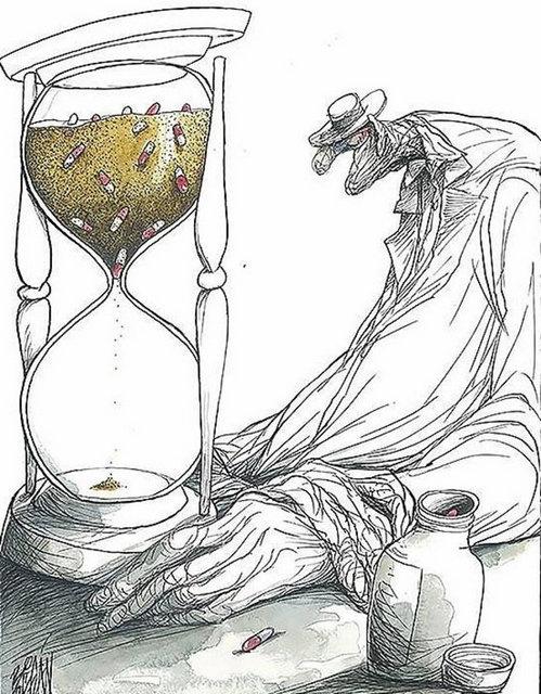 İnsanlığın halini anlatan karikatürler 1