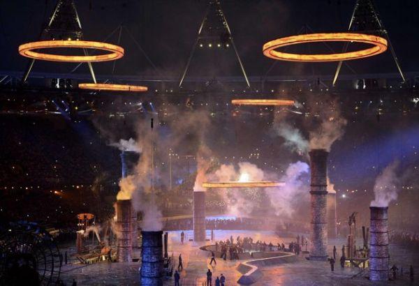 2012 Londra Olimpiyat Oyunları başladı 15