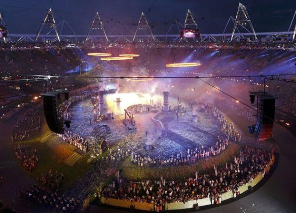 2012 Londra Olimpiyat Oyunları başladı 16