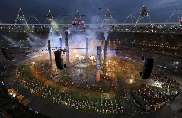 2012 Londra Olimpiyat Oyunları başladı 17