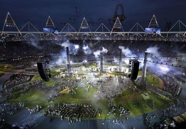 2012 Londra Olimpiyat Oyunları başladı 18